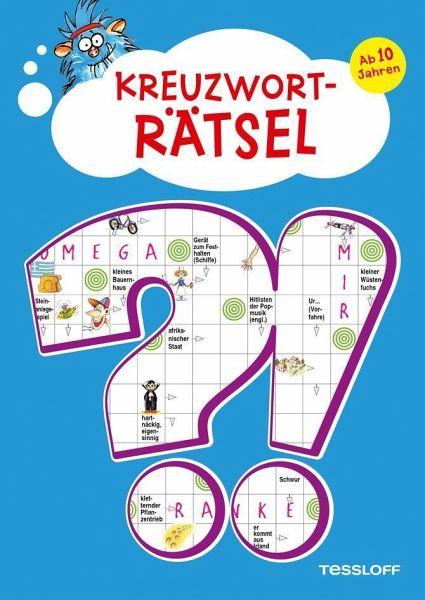 kreuzworträtselbuch für kinder