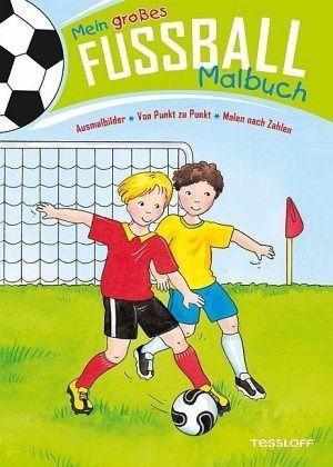 Mein Grosses Fussball Malbuch Ausmalbilder Von Punkt Zu Punkt Malen Nach Zahlen