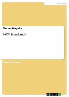 BMW Brand Audit (eBook, ePUB)