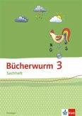 Bücherwurm Sachheft. Arbeitsheft 3. Schuljahr für Thüringen