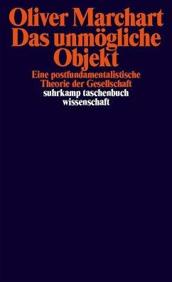 Das unmögliche Objekt (eBook, ePUB) - Marchart, Oliver