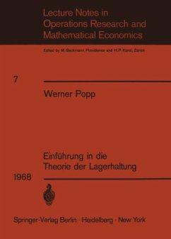 Einführung in die Theorie der Lagerhaltung - Popp, W.