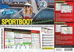 Info-Tafel-Set Sportboot führerscheinfrei - Schulze, Michael