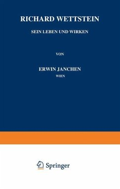 Richard Wettstein - Janchen, Erwin