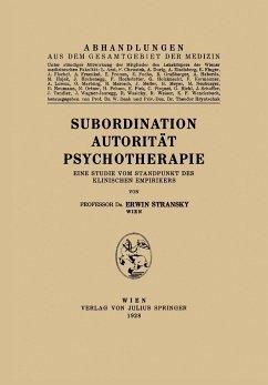 Subordination Autorität Psychotherapie