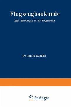 Flugzeugbaukunde - Bader, Hans Georg