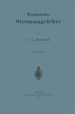 Technische Strömungslehre - Eck, Bruno