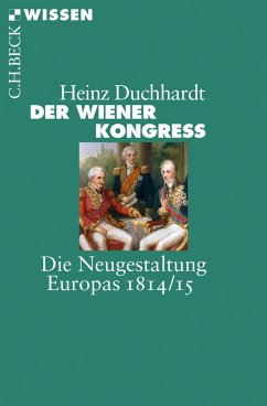 Der Wiener Kongress (eBook, ePUB) - Duchhardt, Heinz