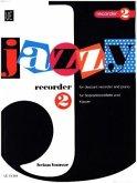 Jazzy Recorder, für Sopran-Blockflöte und Klavier
