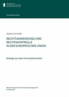Rechtsanwendung und Rechtskontrolle in der Europäischen Union (eBook, ePUB)
