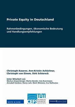 Private Equity in Deutschland (eBook, ePUB)