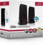 SPEEDLINK EVENT Stereo Speakers, black
