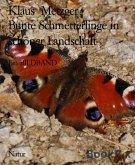 Bunte Schmetterlinge in schöner Landschaft (eBook, ePUB)
