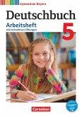 Deutschbuch Gymnasium 5. Jahrgangsstufe. Arbeitsheft mit Lösungen und interaktiven Übungen auf scook.de. Gymnasium Bayern