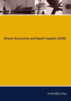 Bicycle Accessoires and Repair Supplies (1918) - Bicycle Factory