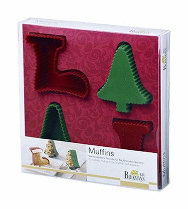 Muffin- und Dessert-Set Weihnachten