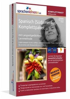 Spanisch (Südamerika)-Komplettpaket, DVD-ROM