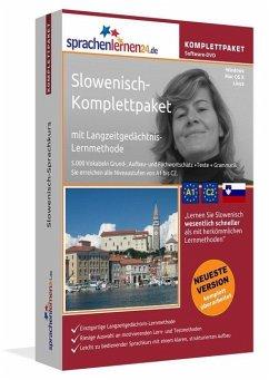 Slowenisch-Komplettpaket, DVD-ROM