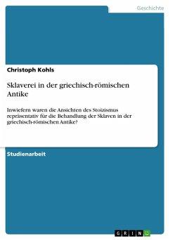 Sklaverei in der griechisch-römischen Antike (eBook, PDF)