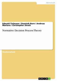 Normative Decision Process Theory (eBook, PDF)