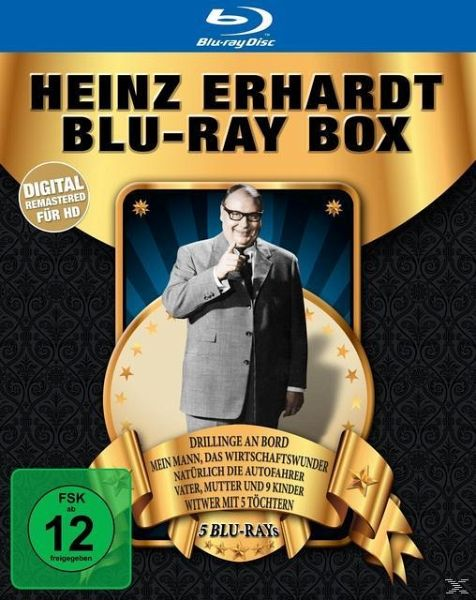 heinz erhardt blu ray box digital remastered 5 discs. Black Bedroom Furniture Sets. Home Design Ideas