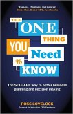 The One Thing You Need to Know (eBook, ePUB)