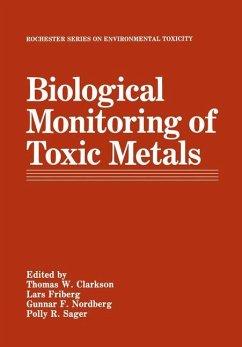 Biological Monitoring of Toxic Metals