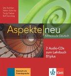 2 Audio-CDs zum Lehrbuch B1 plus / Aspekte NEU - Mittelstufe Deutsch