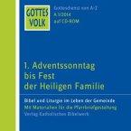 Gottes Volk LJ A1/2014, 1 CD-ROM / Gottes Volk, Lesejahr A 2014