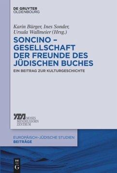 Soncino - Gesellschaft der Freunde des jüdischen Buches