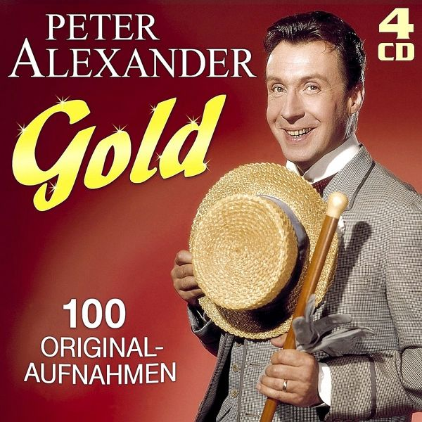 gold 100 originalaufnahmen von peter alexander auf audio. Black Bedroom Furniture Sets. Home Design Ideas