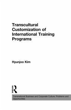 Transcultural Customization of International Training Programs (eBook, PDF) - Kim, Hyunjoo