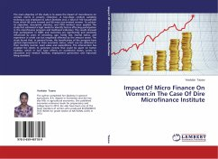 Impact Of Micro Finance On Women:in The Case Of...