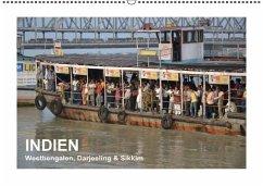 INDIEN (Westbengalen, Darjeeling & Sikkim) (Wandkalender immerwährend DIN A2 quer)