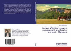 Factors affecting resource management practices by farmers in Okpokwu