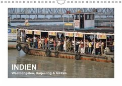 INDIEN (Westbengalen, Darjeeling & Sikkim) (Wandkalender immerwährend DIN A4 quer)