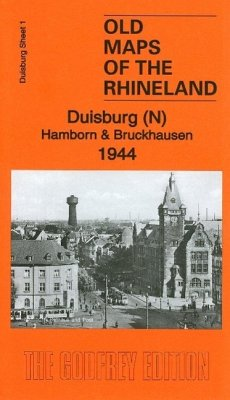 Duisburg Sheet 01. Duisburg (N) Hamborn & Bruckhausen 1944 - Godfrey, Alan