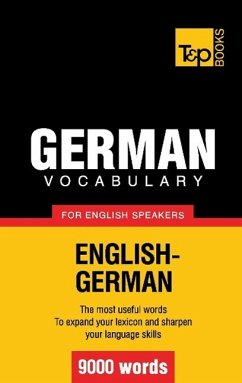 German vocabulary for English speakers - 9000 w...