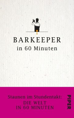 Barkeeper in 60 Minuten (eBook, ePUB) - Lueckel, Gisela; Lueckel, Gordon