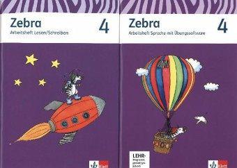 zebra neubearbeitung arbeitsheft paket 4 schuljahr