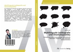 Multilinguale Lexikografie und Onomatopoetika