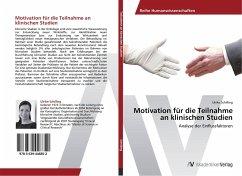 Motivation für die Teilnahme an klinischen Studien