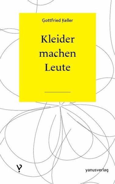 Kleider Machen Leute Ebook Pdf Von Gottfried Keller Portofrei
