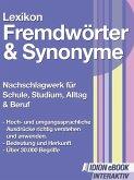Lexikon Fremdwörter Synonyme (eBook, ePUB)