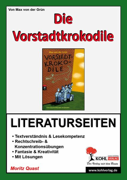 die vorstadtkrokodile literaturseiten ebook pdf von moritz quast. Black Bedroom Furniture Sets. Home Design Ideas