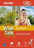 Walk & Talk Spanisch Vokabeltrainer, 2 Audio-CDs + MP3-CD + Begleitheft