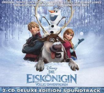 Die Eiskönigin - Völlig Unverfroren (Frozen), 2 Audio-CDs (Deluxe Edition)