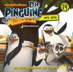 Die Pinguine aus Madagascar - April, April, 1 Audio-CD