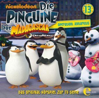 Die Pinguine aus Madagascar - Operation: Antarkis, 1 Audio-CD