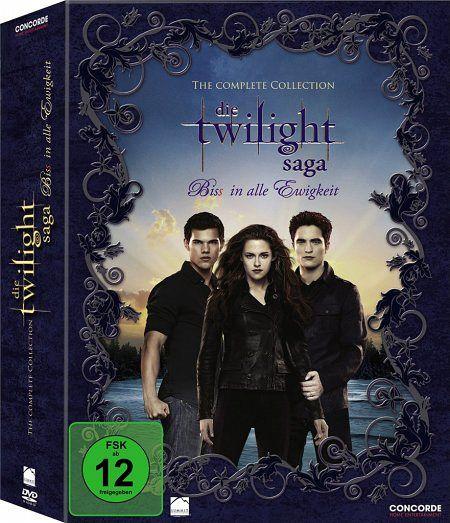 Twilight Saga Complete Collection, 11 DVDs - Kristen Stewart/Robert Pattinson